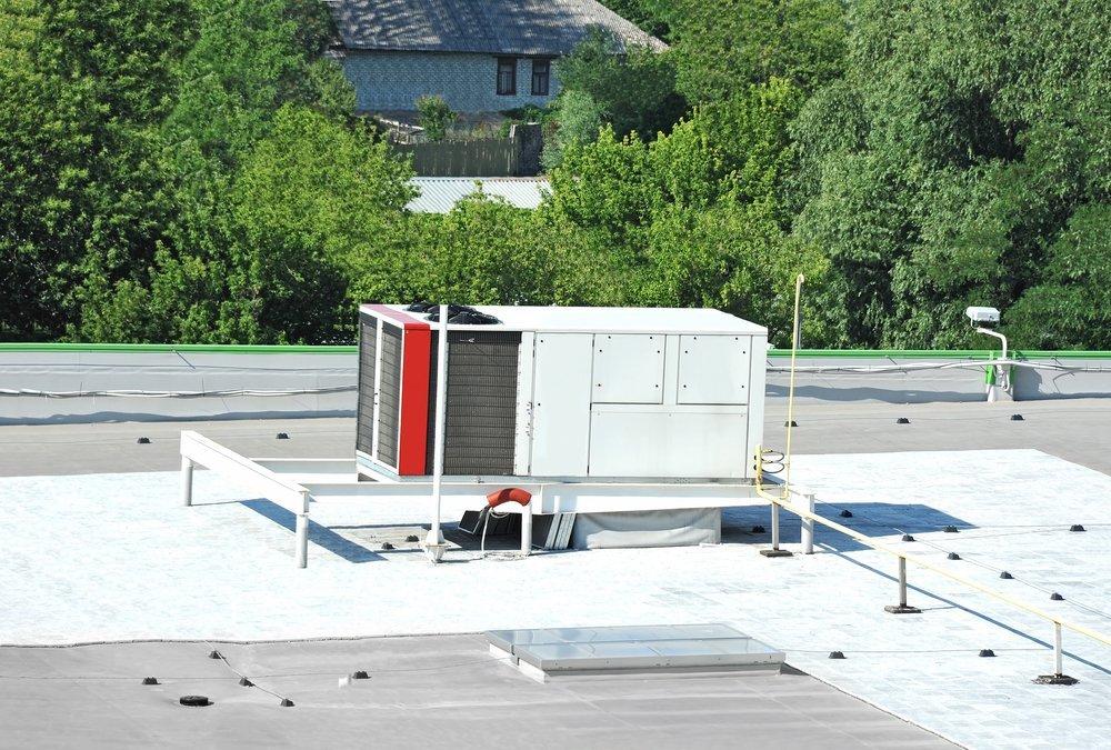 unità esterna centrale termica