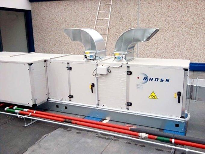 impianto trattamento aria