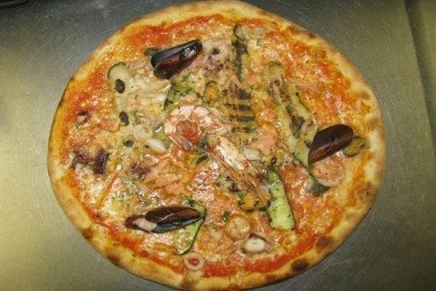 Pizza al fiume