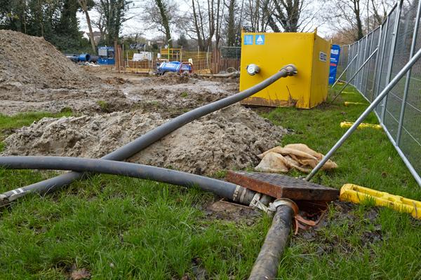 wellpoint dewatering machinery