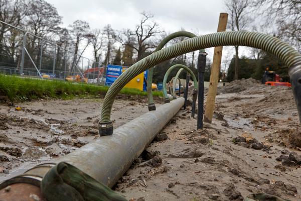 dewatering pipework