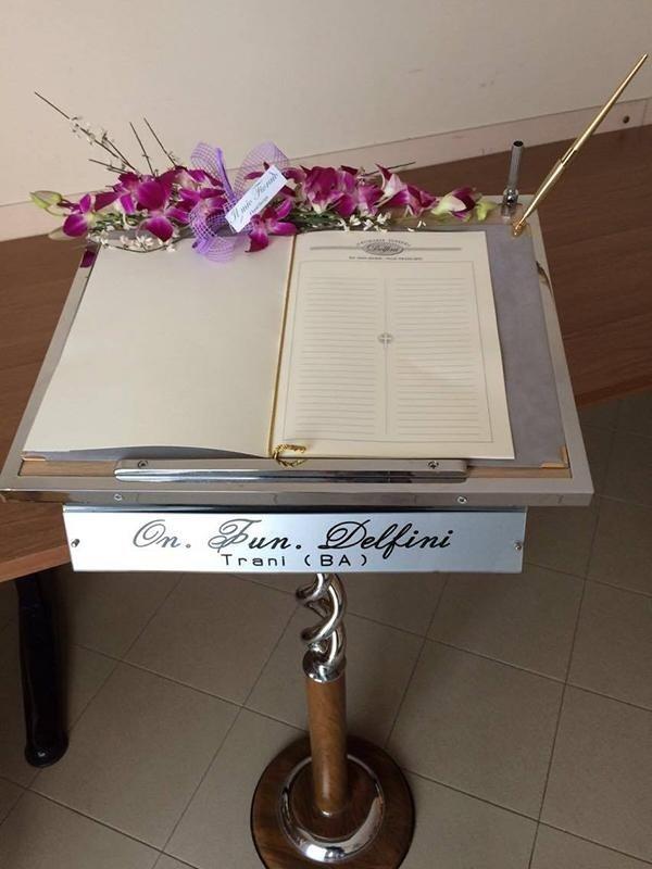 libro delle firme