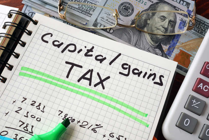 Paying capital gains tax