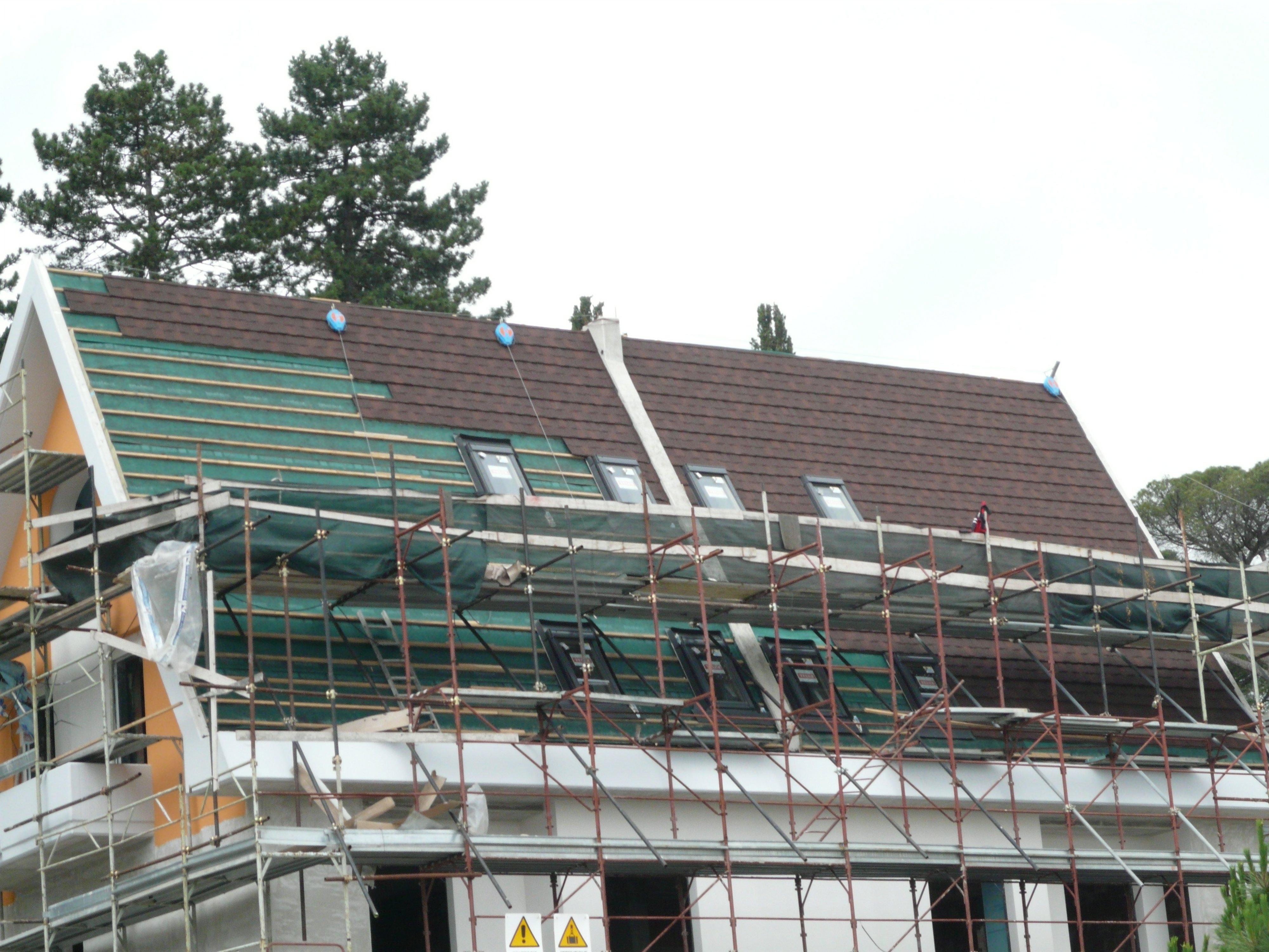 costruzione tetti in legno