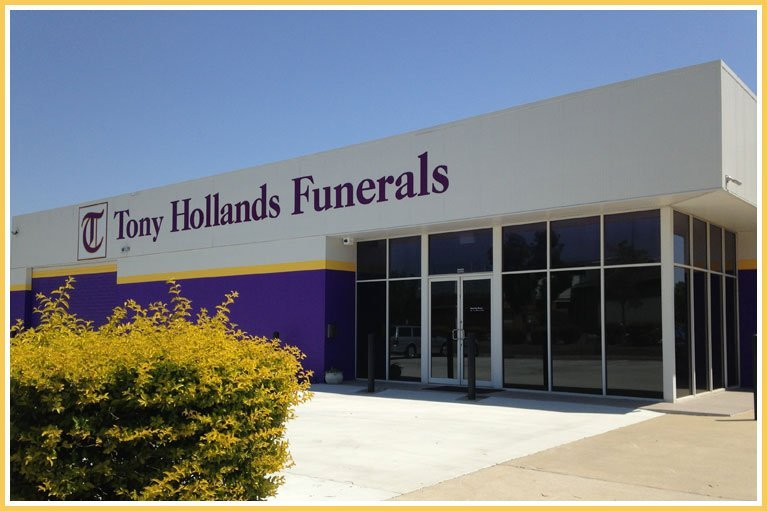 Tony Hollands Funerals Office Building