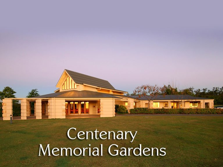 This is an image showing the Centenary Memorial Gardens Building Complex office and chapel location.