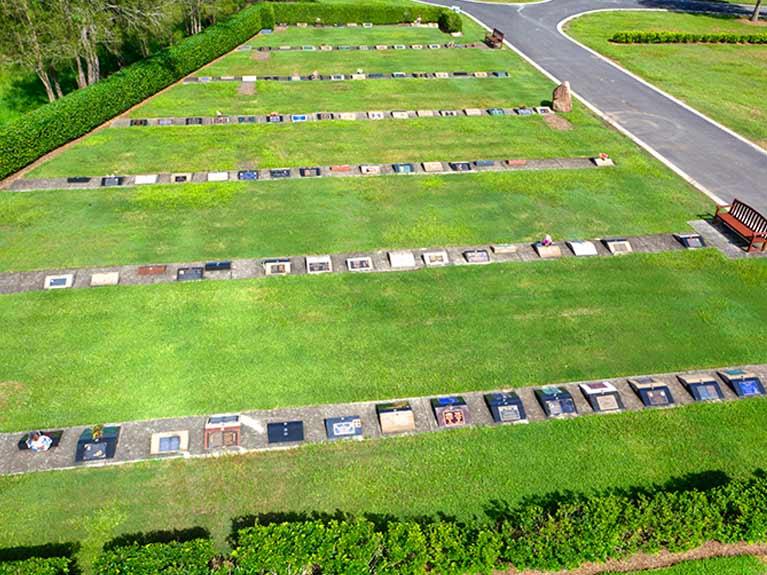 Centenary Memorial Gardens Barton Lawn Cemetery