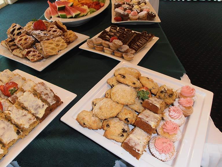 Centenary Memorial Gardens Catering Cake Platters