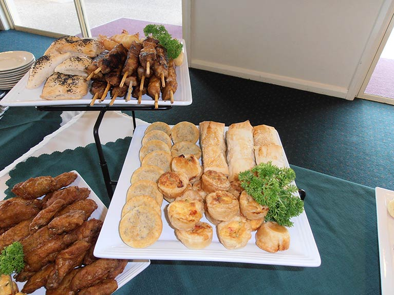 This is an image of Centenary Memorial Gardens Catering Hot Food Platters that are available
