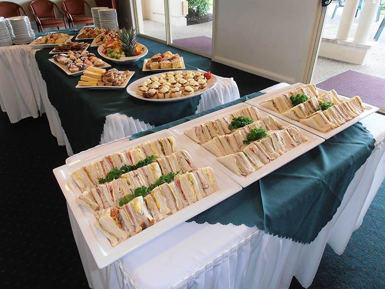 Centenary Memorial Gardens Catering Sandwich Selection