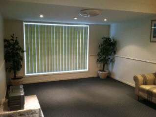 Great Southern Memorial Park Viewing Room Inside View
