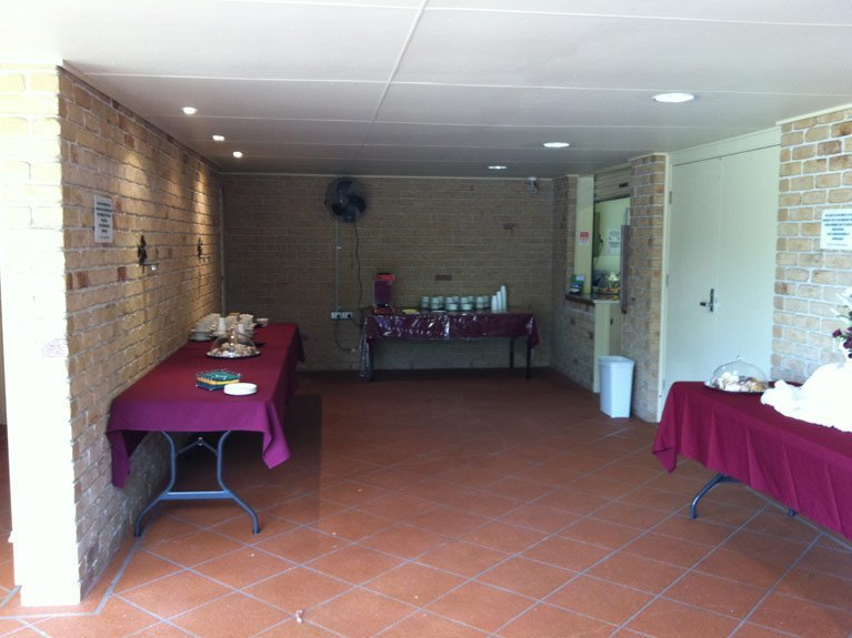 Great Southern Memorial Park Catering Area Inside