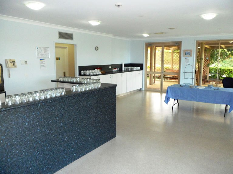 Mt Gravatt Cemetery and Crematorium Catering Room Left View