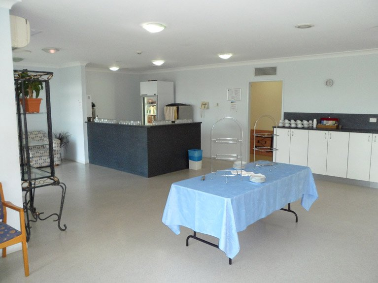 Mt Gravatt Cemetery and Crematorium Catering Room Right View