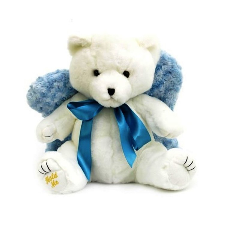 Snow Angel Blue Huggable Bear uh008