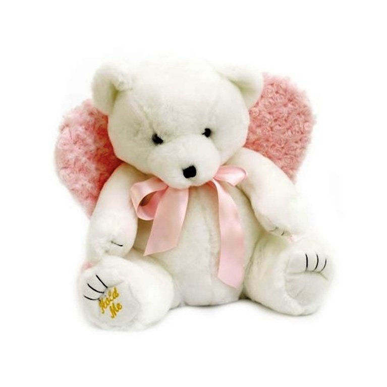 Snow Angel Pink Huggable Bear uh010