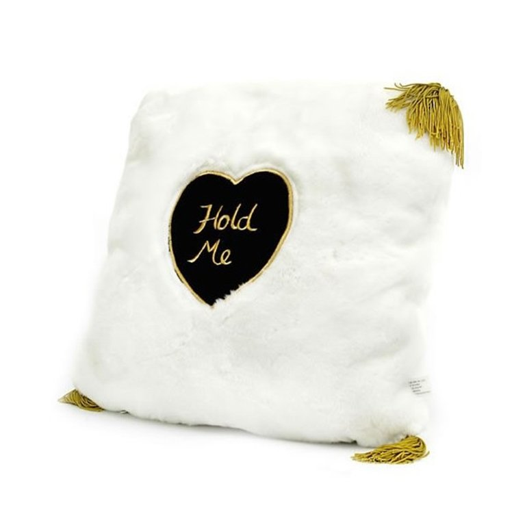 White Huggable Pillow uh014