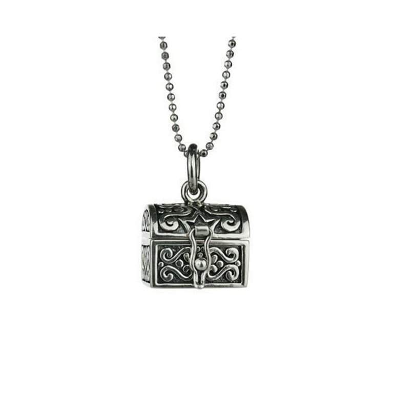 Silver Chest Locket i311