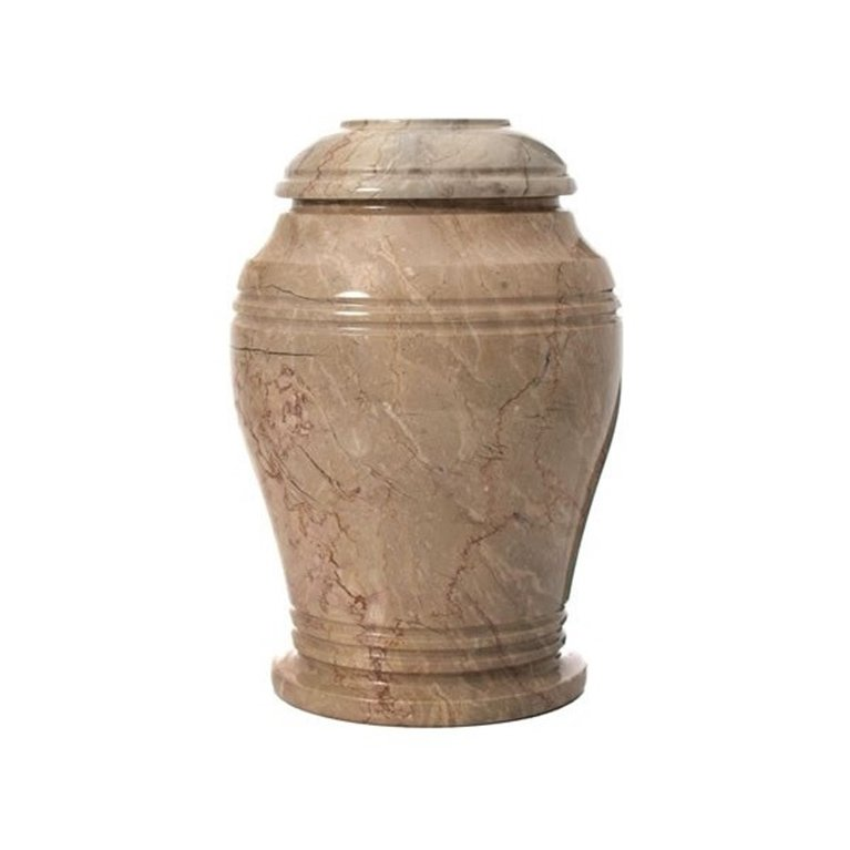 Light Brown Stone Urn KHR 876