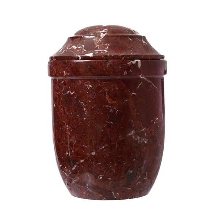 Red Stone Urn
