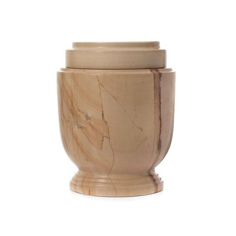 Sandstone Look Marble Urn