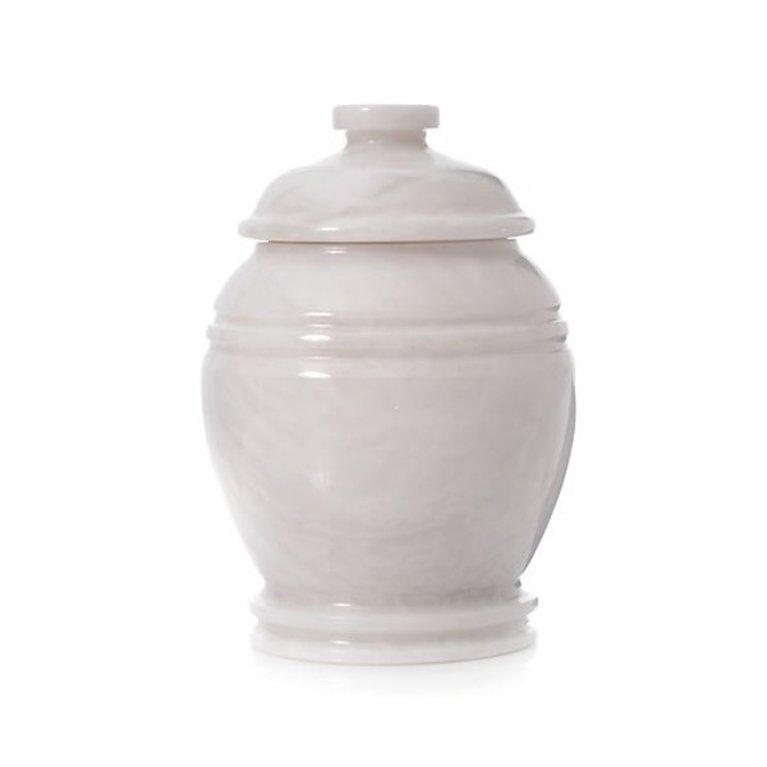 White Stone Urn us0271