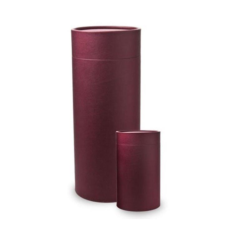 Red Cremation Scatter Urn