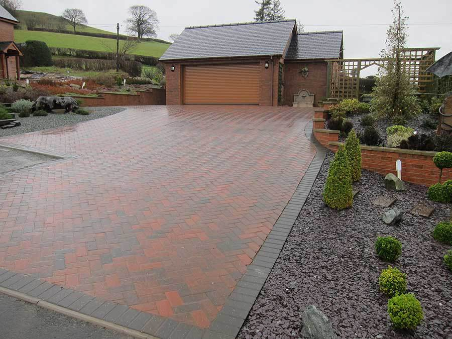 Domestic Garden Landscaping Projects In Powys Shropshire And