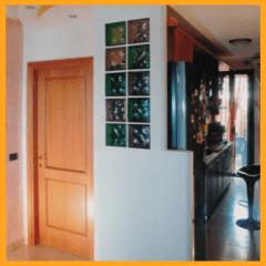 parete divisoria, parete in cartongesso, colonne in cartongesso,l fantagesso