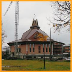 realizzazioni in cartongesso, esterno chiesa, fantagesso, lavori edili