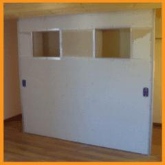 parete divisoria, parete in cartongesso, parete divisoria in cartongesso, fantagesso
