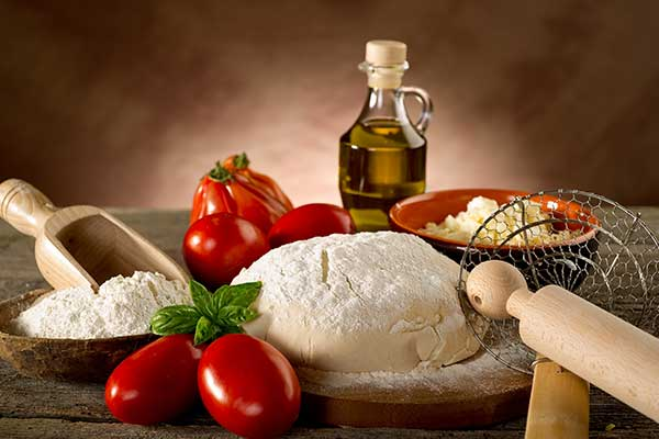 Gli ingredienti di Pizza Express a Mantova