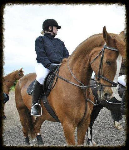 3 women riding horses