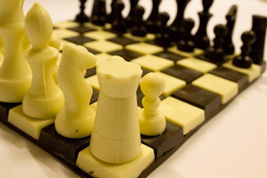 scacchi di cioccolato