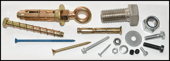 Screws, bolts and nails