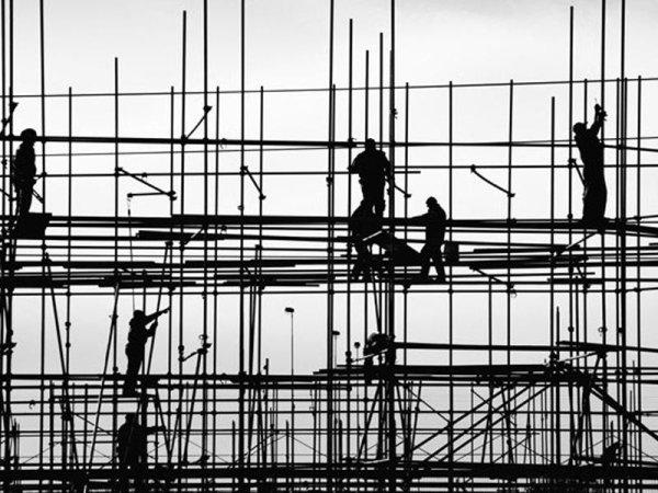 ponteggi per edilizia