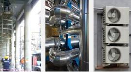 impianti di climatizzazione industriali, impianti di climatizzazione centralizzati, condizionamento aria