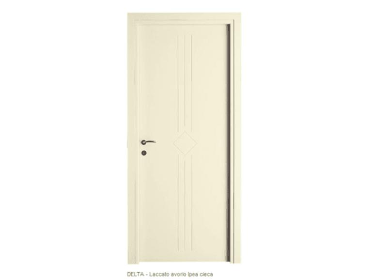 porta laccata delta ipea avorio