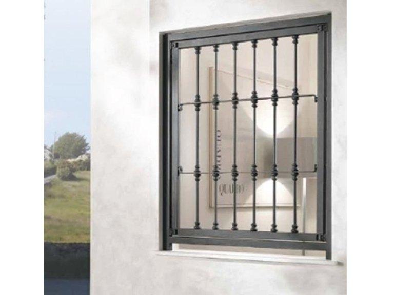 Realizzazione e vendita grate di sicurezza roma arredo casa - Inferriate mobili per finestre ...