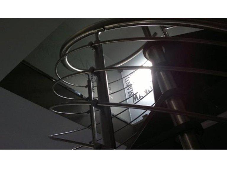 Progettazione scale di design roma arredo casa - Scale a chiocciola roma ...
