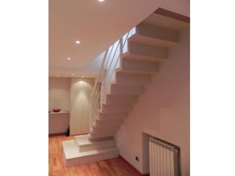Progettazione scale di design roma arredo casa - Scale interno casa ...