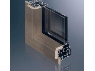 finestre alluminio legno