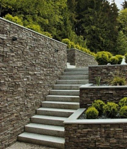 materiali per muratura, prodotti per muratura, scalinata in geopietra