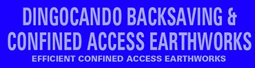 dingocando backsaving and confined access earthworks business logo image