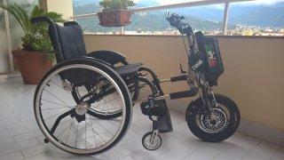 Scooter elettrico per disabili Triride