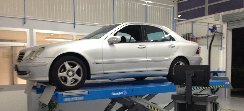 Test su auto Mercedes