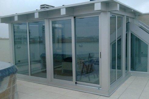 strutture vetro acciaio