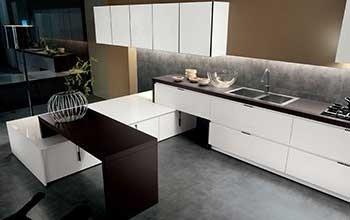 Cucina moderna di design Arrital