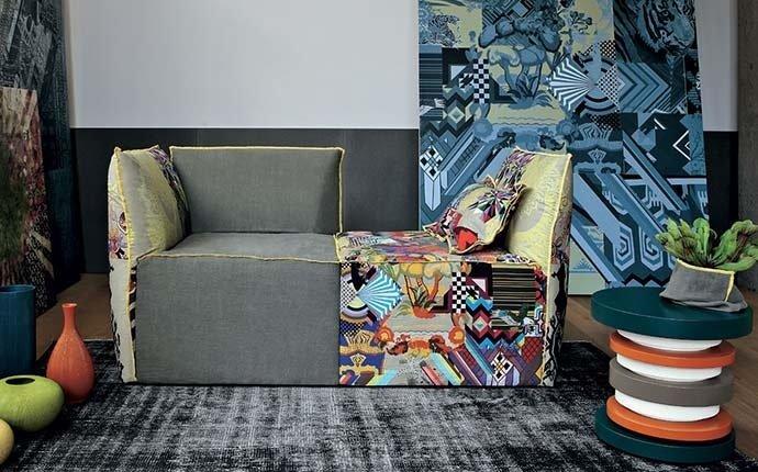 divano componibile Flower Tomasella
