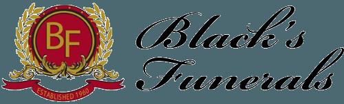blacks funeral logo